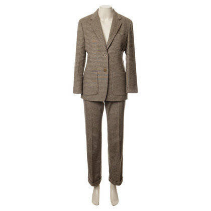 Max Mara Pants suit in the check pattern