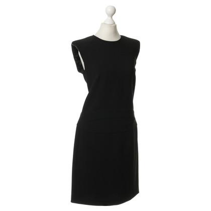 Emilio Pucci Kleid mit Leder-Besatz