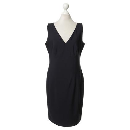 Piu & Piu Schede jurk in donkerblauw