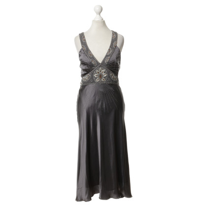 Nocturne Abendkleid in Grau