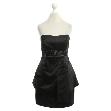 Karen Millen Kleid in Schwarz Schwarz