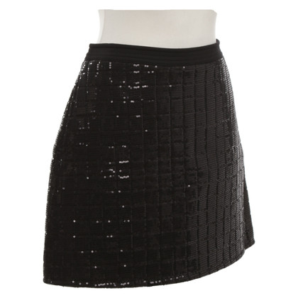 Karl Lagerfeld skirt with sequin trim