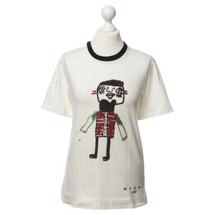 Marni for H&M T-Shirt in gebroken wit