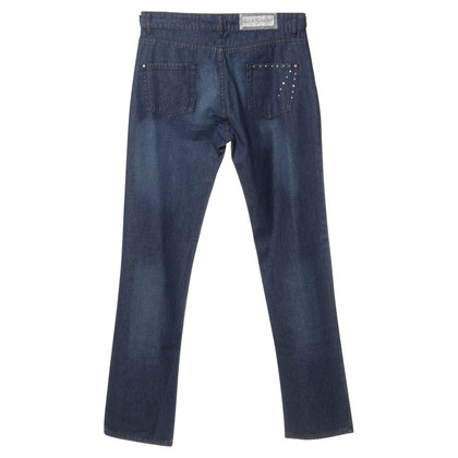Ella Singh Jeans in Blau