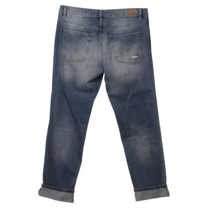 Set Jeans in medium blue