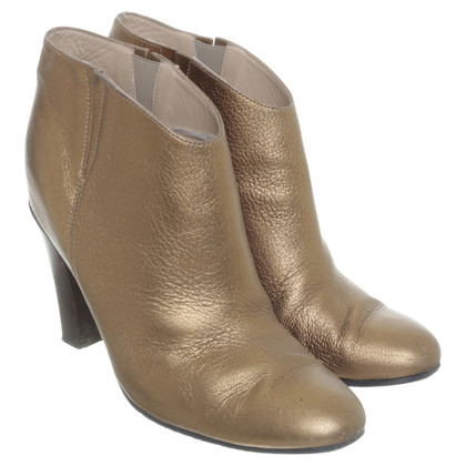 Golden Goose Ankle boots in gold metallic