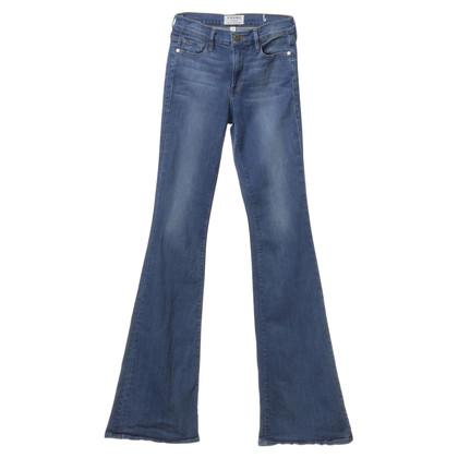 Andere merken Frame - Staking broek in blauw