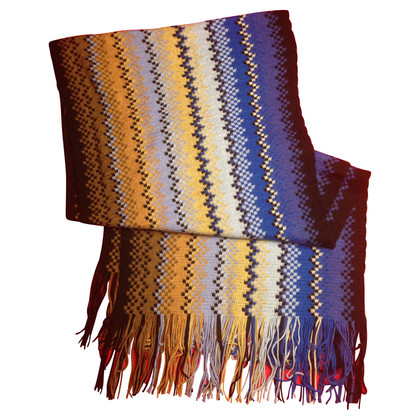Missoni Scarf with zigzag pattern