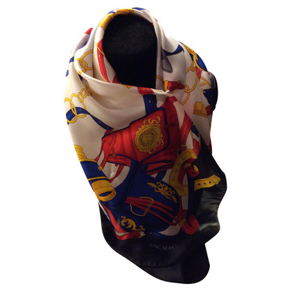 Escada Silk scarf with print