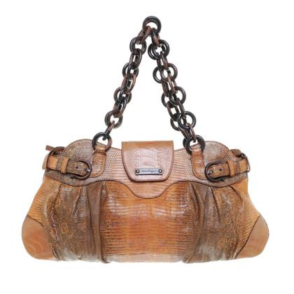 Salvatore Ferragamo Reptile leather handbag