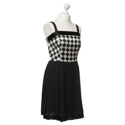 DKNY Pinafore dress with sequins