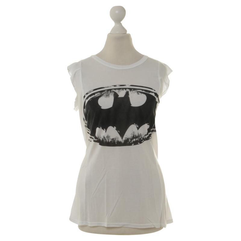 Lauren Moshi Chemise avec une impression de Batman