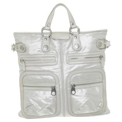 Hogan Handtasche mit Material-Mix