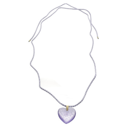 Other Designer Lalique - chain with heart pendant