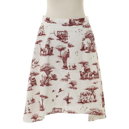 Carven skirt pattern