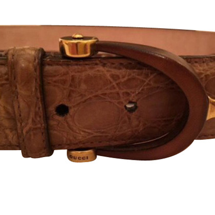 Gucci Exotic leather belt