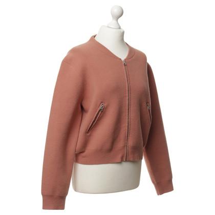 Acne Soft Shell Jacket in perzik