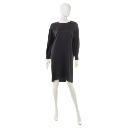 L'autre Chose Silk dress in purple