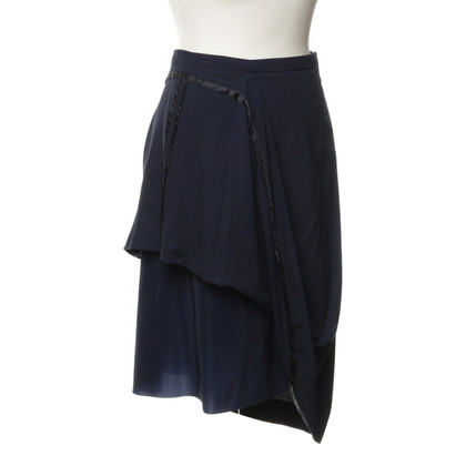 Maison Martin Margiela for H&M Blue skirt with pleats detail