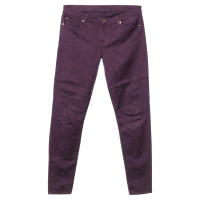 7 For All Mankind Trousers in violet