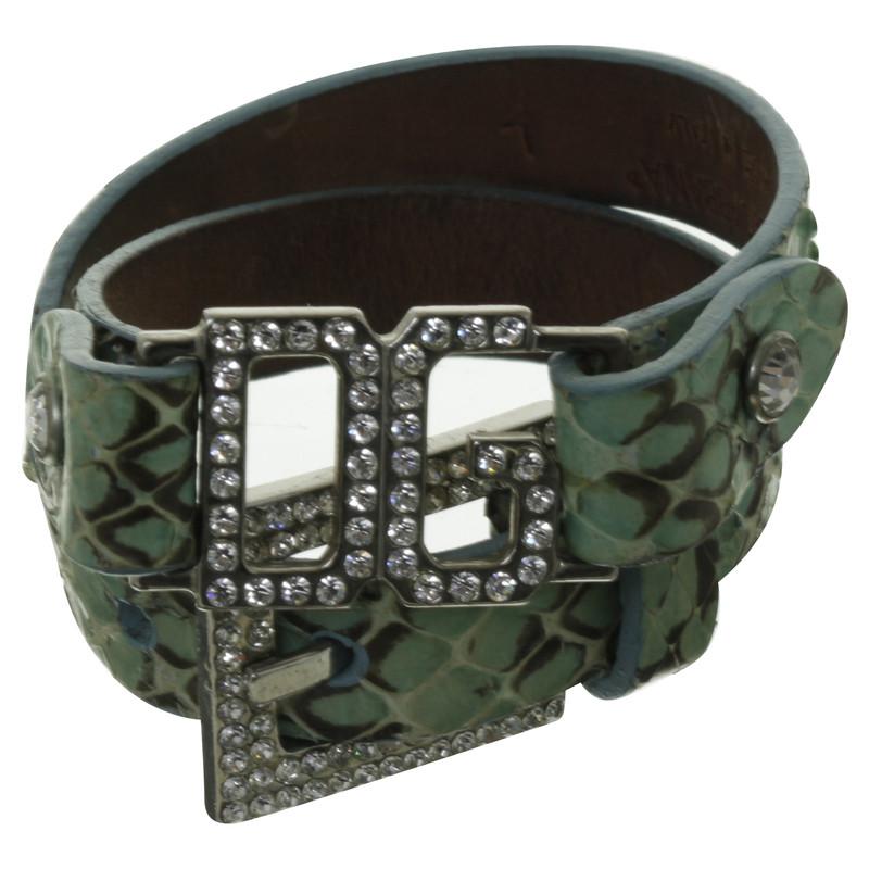 dolce gabbana armband mit schmucksteinen second hand dolce gabbana armband mit. Black Bedroom Furniture Sets. Home Design Ideas
