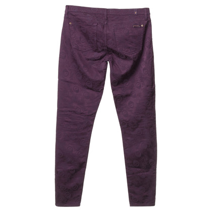 7 For All Mankind Pantaloni in viola