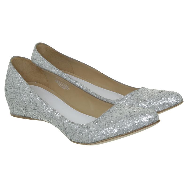 Maison Martin Margiela for H&M Ballerinas in silver