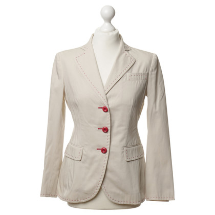 Moschino Blazer with red accents