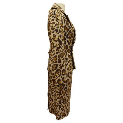 Christian Dior Costume with animal print