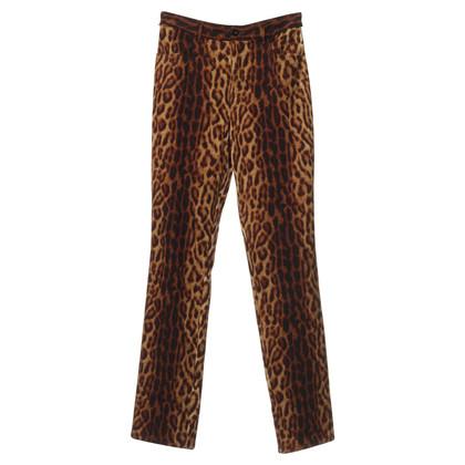 Escada Pants in the animal look