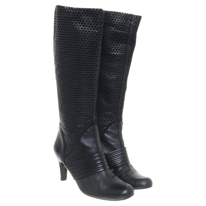 Pedro Garcia Boots with perforation