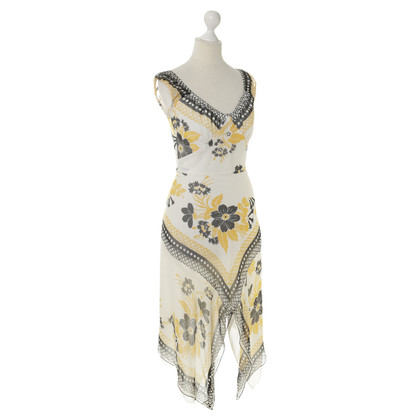 Anna Sui Silk dress with pattern
