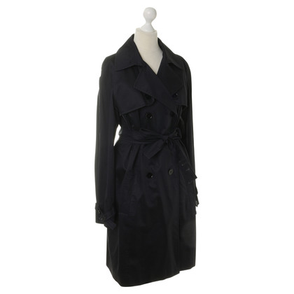 JOOP! Trenchcoat in donkerblauw