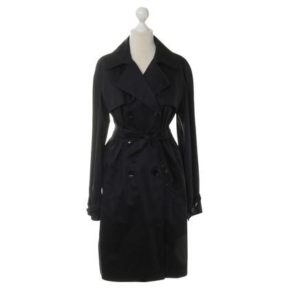 JOOP! Trench coat in blu scuro
