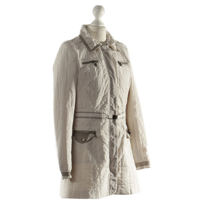Nusco Quilted Jacket in grey