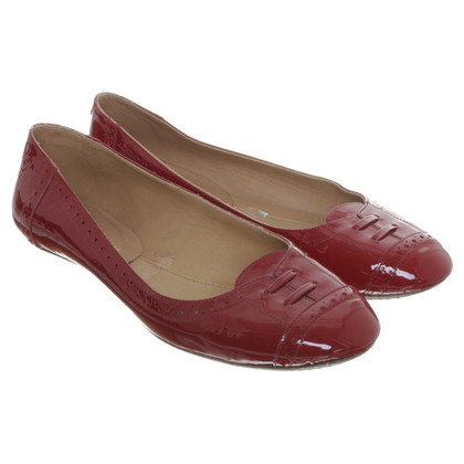 Robert Clergerie Patent leather ballerinas