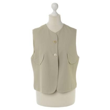 Armani Vest in warmgrey