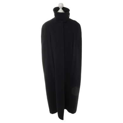 Maison Martin Margiela Cape in dark blue