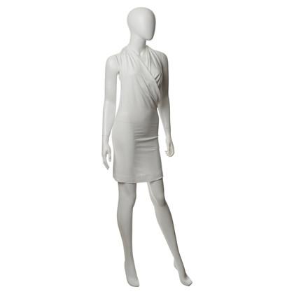 Red Valentino Halter dress in white