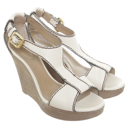 Chloé Wedges with wooden wedge