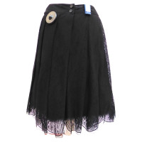 Chanel Lace skirt with petticoat