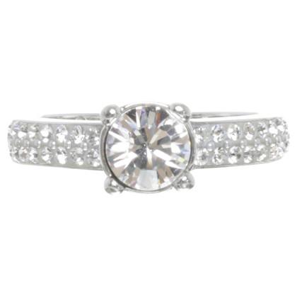 Swarovski Ring with gem trim