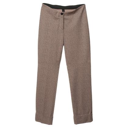 Marc Cain Nudefarbene pants with dots