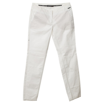 Marc Cain Pants with seams, jewelry