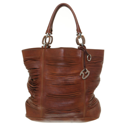 Ermanno Scervino Shoppers in rust brown