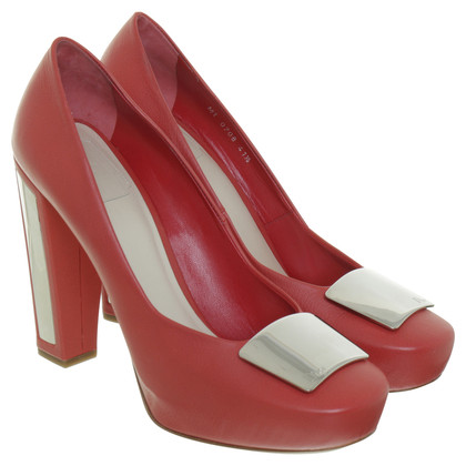 Christian Dior Pumps in red