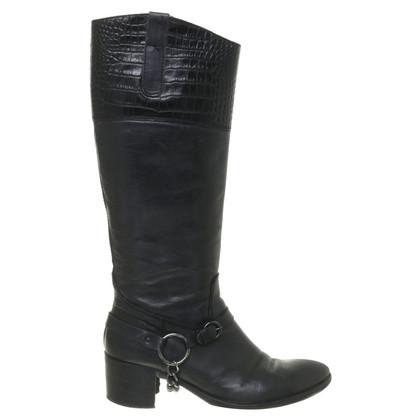 Konstantin Starke Black leather boot
