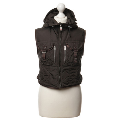 Peuterey Vest in dark brown