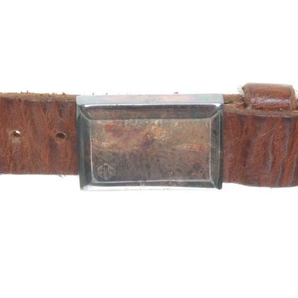 Golden Goose Belt with rivets