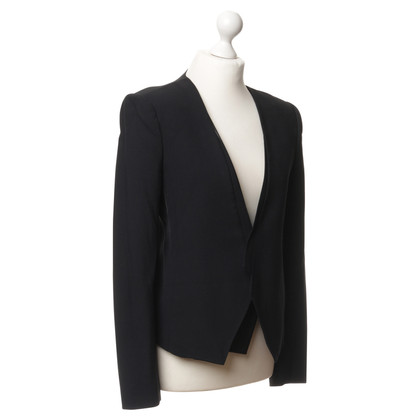 Halston Heritage Blazer with leather inserts